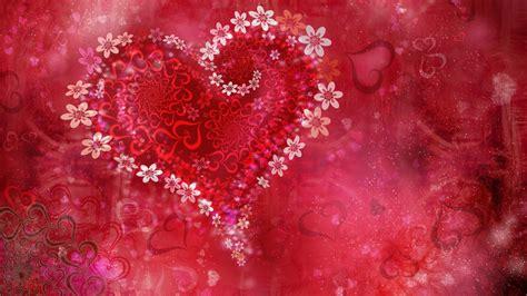 love heart flowers wallpapers hd wallpapers id