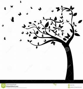 Stickers Arbre Noir : arbre abstrait illustration de vecteur illustration du nature 32401195 ~ Teatrodelosmanantiales.com Idées de Décoration