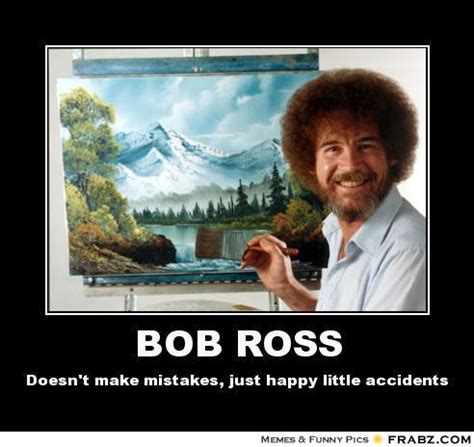 Bobs Meme - bob ross meme generator posterizer