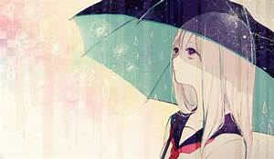 anime girl under umbrella | Anime, Manga and 2D Girls ...