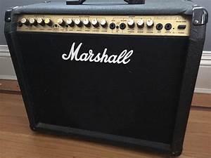 Marshall Valvestate 80v 8080 Black  U0026 Gold