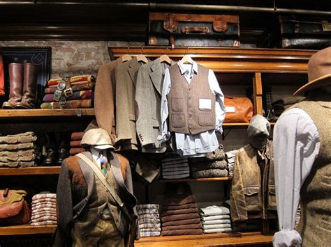The sides with wide storage area. RRL at the Rhinelander Mansion | A Continuous Lean.