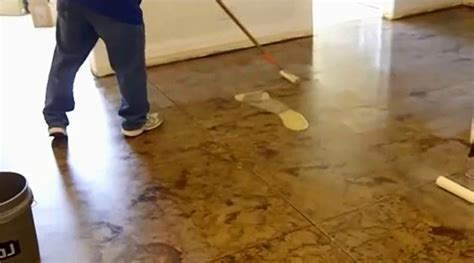 How to Acid Stain a Concrete Floor DIY Projects Craft