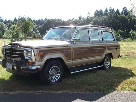 jeep wagoneer 1990 find used 1990 jeep grand wagoneer 4x4 with 73k original