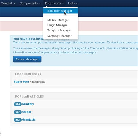 How To Upload A Template In Joomla by How To Install A Joomla Template