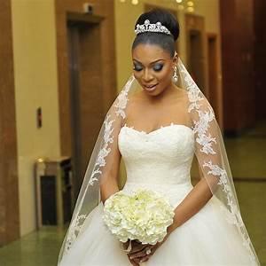 Nigerian Wedding Hairstyles 2018 With Veil
