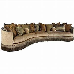 rachlin classics whitney traditional 3 piece sectional With sectional sofas baton rouge