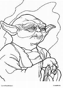 Malvorlagen Fur Kinder Ausmalbilder Star Wars Yoda