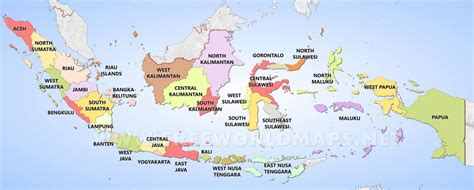 indonesia province map indonesia map provinces south
