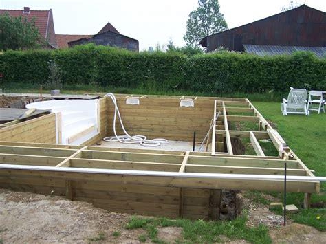 piscine ossature bois enterree terrasse en bois exotique 224 bouvignies orchies r 233 gion lille 59 wood conception