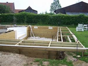 terrasse en bois exotique a bouvignies orchies region With photo terrasse bois piscine 4 structure terrasse b wood