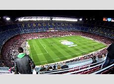 FC BARCELONA Camp Nou Stadium YouTube