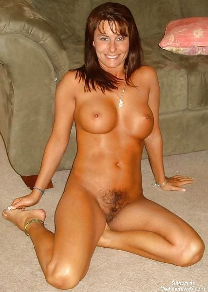 Pretty Milf With Nice Titties And A Hairy Coochie