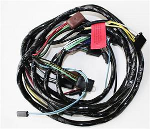 1967 Ford Mustang Headlight Wire Harness Loom W   Tach W