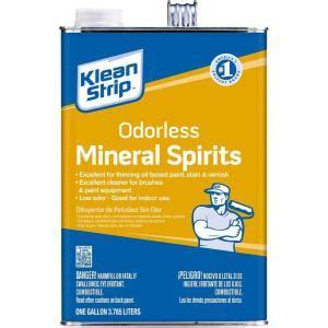 klean strip  gal odorless mineral spirits gkspp