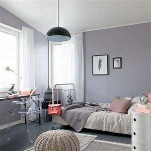 Beautiful Deco Chambre Ado Fille Gris Et Rose Contemporary
