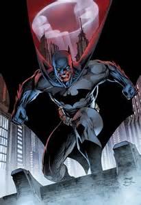 Batman Jim Lee Comic Art
