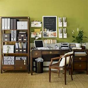 30 home office interior decor ideas for Office decor idea