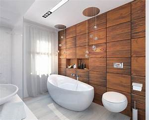cherry-wood-bathroom Interior Design Ideas