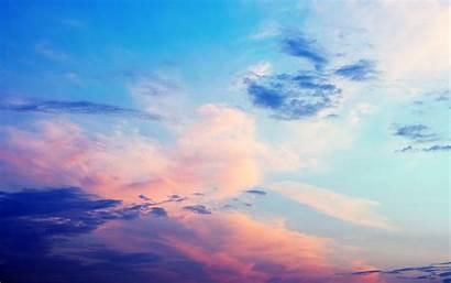 Sky Clouds Sunset Wallpapers Backgrounds Desktop Cloudy