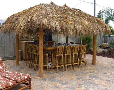 How To Build A Tiki Hut by Building A Tiki Bar What Should You Interior
