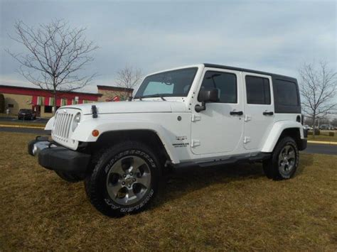 jeep sahara 2016 white 2016 jeep wrangler used cars in mount laurel mitula cars