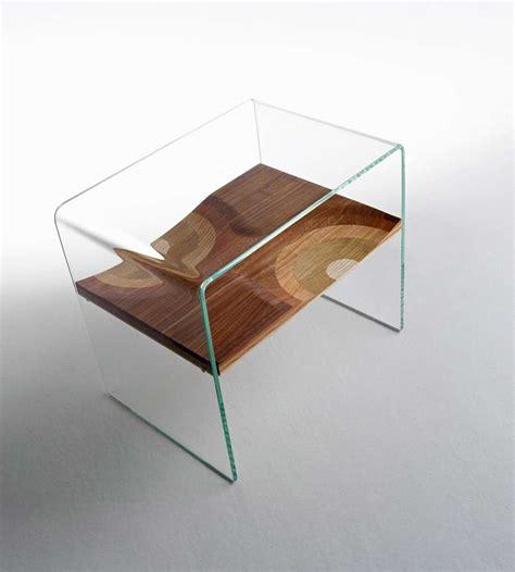 Comodini In Vetro Da Letto Comodini Moderni In Vetro Foto Design Mag