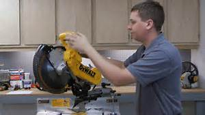 How To Replace The Switch On A Dewalt Dw718 Miter Saw