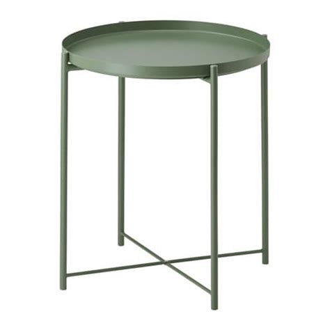 Pictures Of Kitchen Ideas - gladom tray table dark green ikea