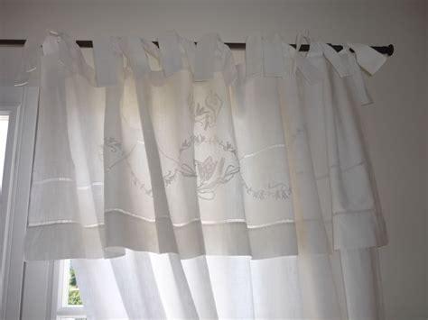 faire des rideaux avec draps anciens l de transformer un drap en rideau l atelier de cr 233 ation dentelle