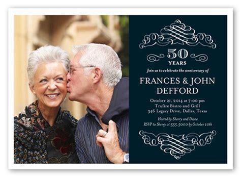 memorable years  invitation wedding anniversary invitations shutterfly