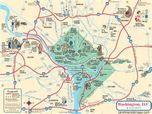 Washington DC Metro Area Map