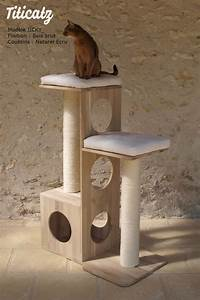 Arbre A Chaton : arbre chat jicky grand mod le en bois cat ~ Premium-room.com Idées de Décoration