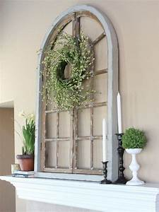 Different ways to use old window frames