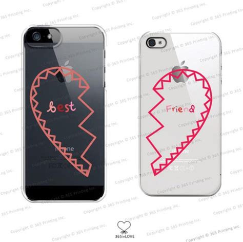 best friend iphone 5 cases amazon com bff phone covers best friends matching Best