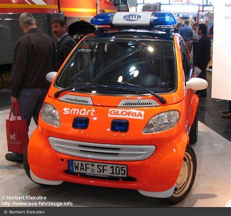 einsatzfahrzeug smart fortwo gloria promotion fahrzeug bos fahrzeuge einsatzfahrzeuge