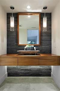 Badezimmer Design Badgestaltung : waschbeckenschrank aus holz elegantes m belst ck im bad ~ Orissabook.com Haus und Dekorationen
