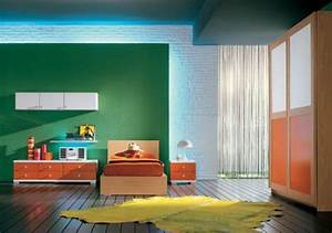 Innovative, Kids, Bedroom, Designs, With, Green, Eco