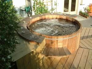Hivernage Bassin Exterieur : spa semi enterr dans une terrasse en escalier spas ~ Premium-room.com Idées de Décoration