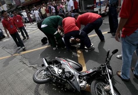 Most Are Motorcycle Riders, Pedestrians
