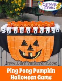 Halloween Pumpkin Ping Pong Game