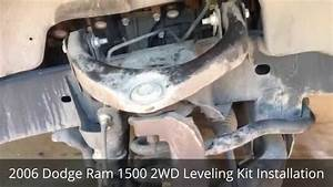 2006 Dodge Ram 1500 2wd Leveling Kit Installation