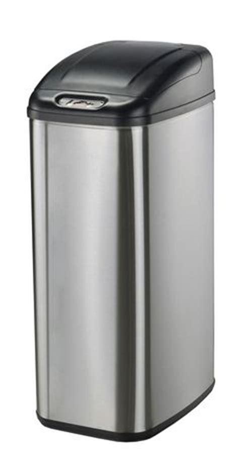 poubelle cuisine etroite poubelle à détecteur de mouvement étroite et sans contact