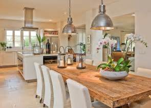kitchen and dining room ideas open concept kitchen interior table and chairs industrial and farmhouse table