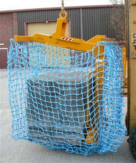 load restraint debris net brick fork nets skip net