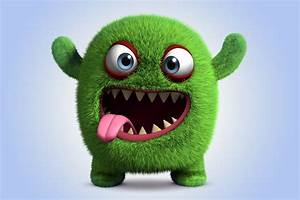 Cute Monster 4k Ultra HD Wallpaper and Background ...