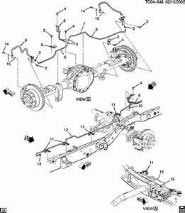 2004 Cadillac Escalade Brake Line Diagram