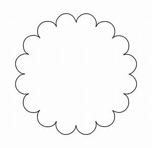 circular scalloped tag template google search tutorial With circle gift tag template
