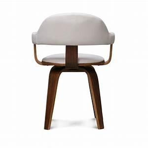 Chaise Blanche Scandinave : chaise design scandinave rotative blanche py riv demeure et jardin ~ Teatrodelosmanantiales.com Idées de Décoration
