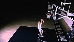 Girl Dunking Basketball Amazing - Women's Basketball Slam ...
